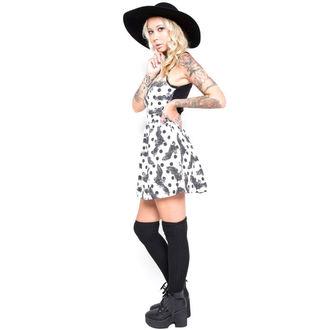 šaty dámske IRON FIST - Nocturnal - White, IRON FIST