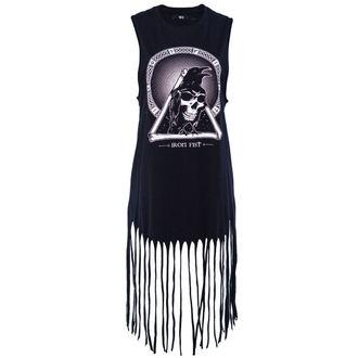 šaty dámske IRON FIST - Throne Fringe - Black