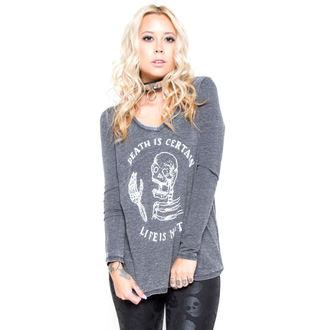tričko dámske s dlhým rukávom IRON FIST - Certain Death - Black, IRON FIST