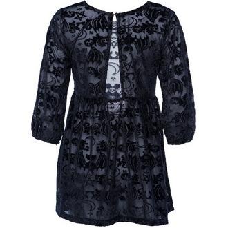 šaty dámske IRON FIST - Bat Royalty - Black, IRON FIST