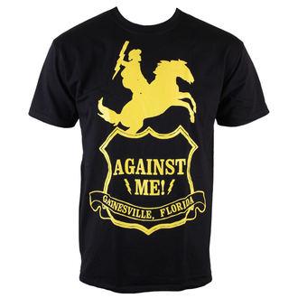 tričko pánske - Against Me - Shield - Black - KINGS ROAD, KINGS ROAD, Against Me!