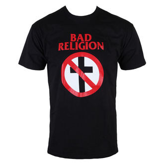tričko pánske Bad Religion - Cross Buster - Black - KINGS ROAD, KINGS ROAD, Bad Religion