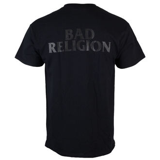 tričko pánske Bad Religion - Monochrome Crossbuster - Black - KINGS ROAD, KINGS ROAD, Bad Religion