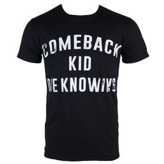 tričko pánske Comeback Kid - Die Knowing - Black - KINGS ROAD, KINGS ROAD, Comeback Kid