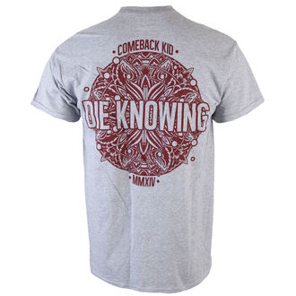 tričko pánske Comeback Kid - Mandala - Heather Gray - KINGS ROAD, KINGS ROAD, Comeback Kid