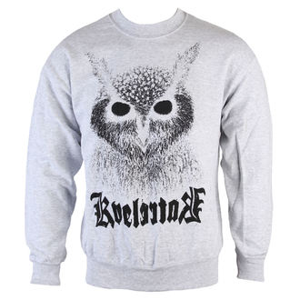 mikina pánska Kvelertak - Barletta Owl - Heather Gray - KINGS RAOD - 46517