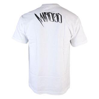 tričko pánske MAFIOSO - Backside - White, MAFIOSO