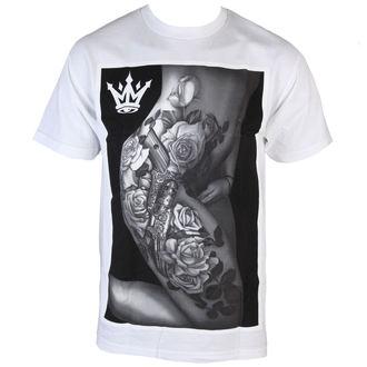 tričko pánske MAFIOSO - Body Art - White, MAFIOSO