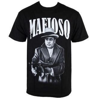 tričko pánske MAFIOSO - Capone - Black, MAFIOSO