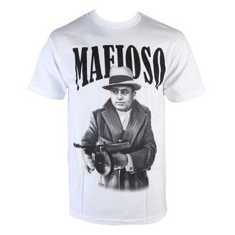tričko pánske MAFIOSO - Capone - White, MAFIOSO