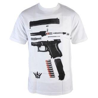 tričko pánske MAFIOSO - Dismantled - White, MAFIOSO