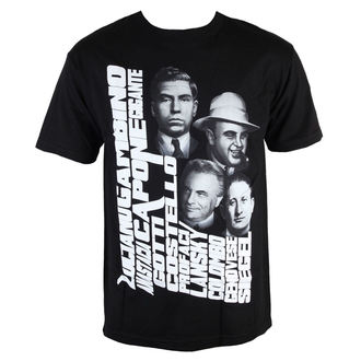 tričko pánske MAFIOSO - Mobbin 2.0 - Black, MAFIOSO