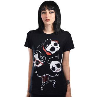 tričko dámske Akumu Ink - Unseen, Unheard, Unspoken