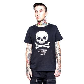 tričko pánske IRON FIST - Engineered Graphic - Black, IRON FIST