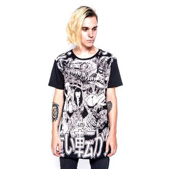 tričko pánske IRON FIST - Shinjuku Baggy Fit - Black, IRON FIST
