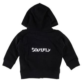 mikina detská Soulfly - Logo - Metal-Kids