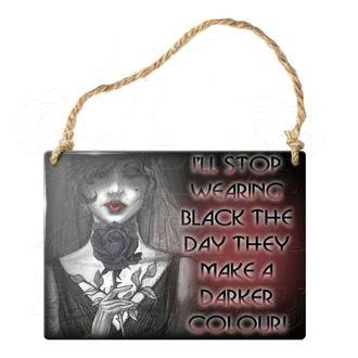 ceduľka ALCHEMY GOTHIC - I'll Stop Wearing Black, ALCHEMY GOTHIC