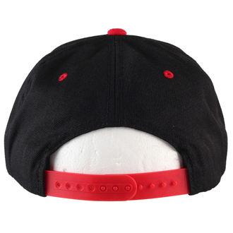 šiltovka BLACK HEART - Stamp - Blk/Red