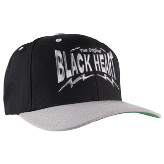 šiltovka BLACK HEART - Snap Back - Blk / Grey, BLACK HEART