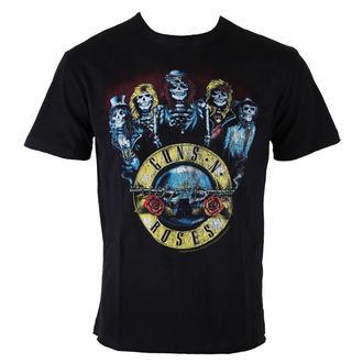 tričko pánske Guns N' Roses - Skeletor - BLK - AMPLIFIED