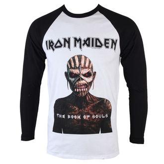 tričko pánske s dlhým rukávom Iron Maiden - Book Of Souls - ROCK OFF, ROCK OFF, Iron Maiden
