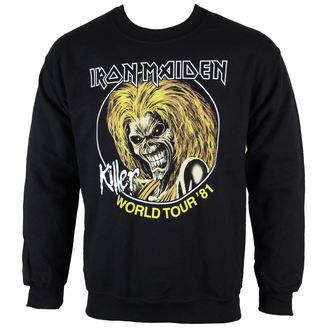mikina pánska Iron Maiden - Killers 81 - ROCK OFF - IMSWT04MB