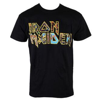 tričko pánske Iron Maiden - Eddie Logo - ROCK OFF, ROCK OFF, Iron Maiden