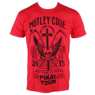 tričko pánske Mötley Crüe - Final Tour Tattoo - ROCK OFF, ROCK OFF, Mötley Crüe