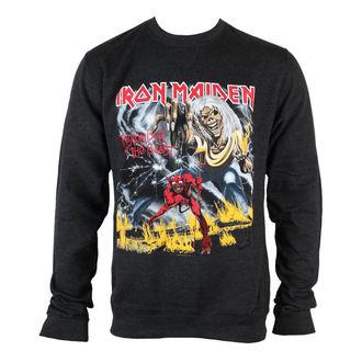 mikina pánska Iron Maiden - NOTB Puff Print - ROCK OFF, ROCK OFF, Iron Maiden