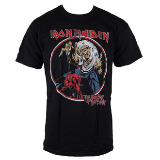 tričko pánske Iron Maiden - NOTB Vintage - Black - ROCK OFF, ROCK OFF, Iron Maiden