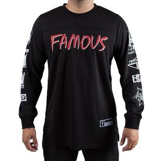 tričko pánske s dlhým rukávom (dres) FAMOUS STARS & STRAPS - Raised On Rap, FAMOUS STARS & STRAPS