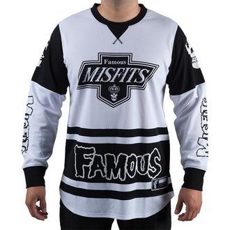 tričko pánske s dlhým rukávom (dres) FAMOUS STARS & STRAPS - Misfits, FAMOUS STARS & STRAPS, Misfits