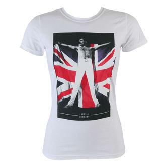 tričko dámske Freddie Mercury - Flag - BRAVADO, BRAVADO, Queen