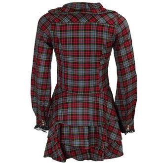 šaty dámske DEAD THREADS - Blk / Red / Grey, DEAD THREADS