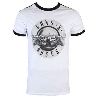 tričko pánske Guns N' Roses - Bullet Logo Soccer - BRAVADO, BRAVADO, Guns N' Roses
