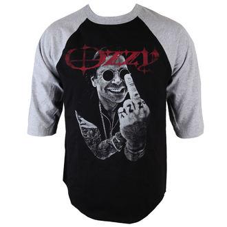 tričko pánske s 3/4 rukávom Ozzy Osbourne - OOS4 Finger - BRAVADO, BRAVADO, Ozzy Osbourne