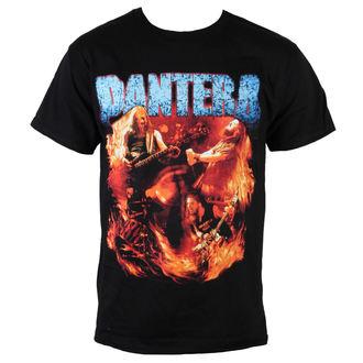 tričko pánske Pantera - Flames Vintage - BRAVADO - 31511257