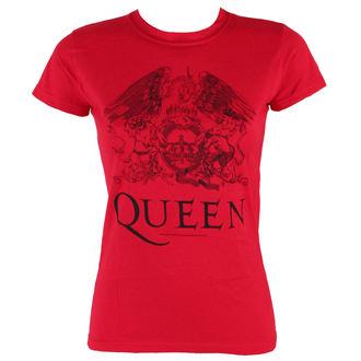 tričko dámske Queen - Logo - BRAVADO, BRAVADO, Queen