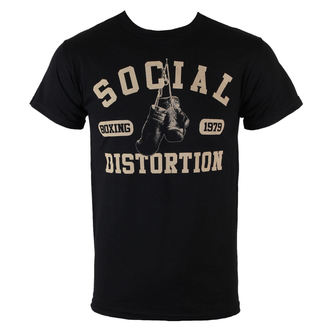 tričko pánske Social Distortion - Boxing Gloves - BRAVADO, BRAVADO, Social Distortion