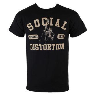 tričko pánske Social Distortion - Boxing Gloves - BRAVADO - 31251050