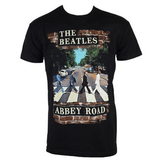 tričko pánske Beatles - Abby Brick Photo - BRAVADO