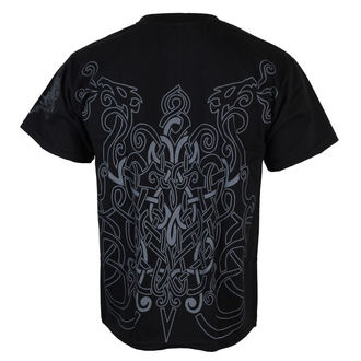 tričko pánske ALISTAR - Warrior & Drakkars - Black, ALISTAR