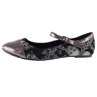 topánky dámske (balerínky) IRON FIST - Urban Decay Flat - Black, IRON FIST