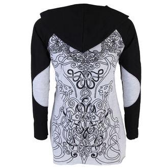tričko dámske s dlhým rukávom (tunika) ALISTAR - Viking Symbols - Grey, ALISTAR