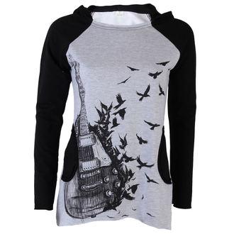 tričko dámske s dlhým rukávom (tunika) ALISTAR - Gibson A Crows - Grey, ALISTAR