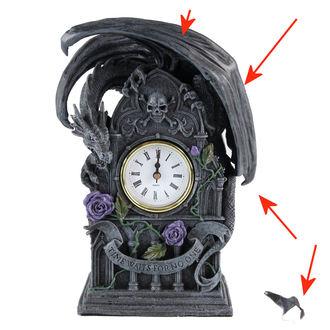 hodiny (dekorácia) Dragon Beauty - POŠKODENÉ