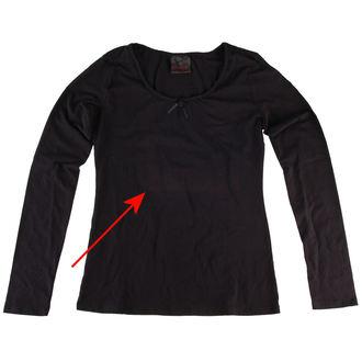 tričko dámske s dlhým rukávom QUEEN OF DARKNESS - POŠKODENÉ, QUEEN OF DARKNESS