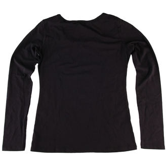 tričko dámske s dlhým rukávom QUEEN OF DARKNESS - POŠKODENÉ