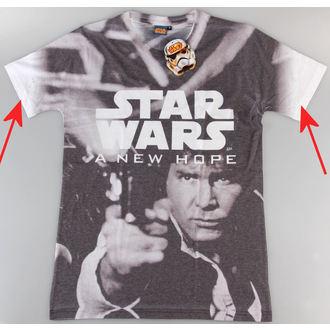 tričko pánske Star Wars - A New Hope (Dye Sub) - PLASTIC HEAD - POŠKODENÉ, PLASTIC HEAD