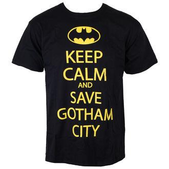 tričko pánske Batman - Save Our Gotham City - Black - INDIEGO